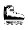 rollerblade or skate icon image vector image vector image
