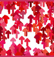 seamless arrow background pattern - graphic vector image vector image