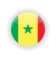 Senegal icon circle vector image vector image