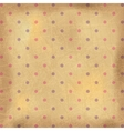 Vintage polka dots wallpaper vector image vector image