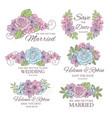 wedding decorator wedding vector image vector image