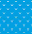 convex star pattern seamless blue vector image vector image