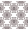 floral filigree background seamless pattern vector image vector image