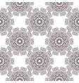 Floral filigree background seamless pattern