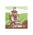 Gardener Landscaper vector image vector image
