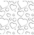 heart cartoon pattern image vector image vector image