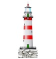 Isolated Lighthouse vector image vector image