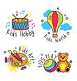 kids logo badge