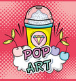 pop art cartoons concept vector image