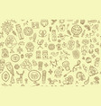 tribal ethnic elements seamless pattern for your vector image vector image