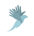bird in the hand vector image vector image