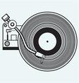 record player vinyl vector image