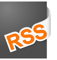 right side sign rss vector image vector image