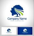 Tree Logo Design Creative vector image