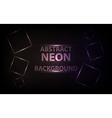 neon squares design vector image