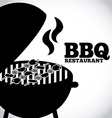 barbecue restaurant vector image