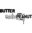 best recipes peanut butter cup milkshake text vector image