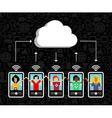 cloud computing phone background