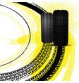 grunge racing background vector image vector image