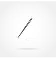 icon pen vector image