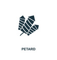 petard icon premium style design from christmas vector image