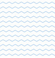 tile pattern with pastel blue and white zig zag vector image vector image