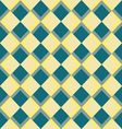 Abstract colorful mosaic Seamless pattern of geome vector image vector image