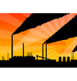 factory vector image vector image