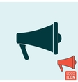 Megaphone icon isolated vector image vector image