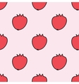 Seamless hand-drawn pattern with pomegranate vector image
