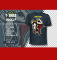 template for t-shirts egyptian gods hathor vector image vector image