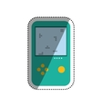 Tetris puzzle videogame vector image vector image