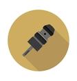 flat icon Keyless Chuck drill vector image