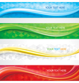 Banners Background Set vector image