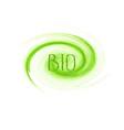 bio product concept logo design vector image vector image