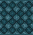 dark blue seamless chess styled vintage texture vector image vector image