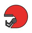 Football helmet cartoon