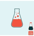 Laboratory icon isolated vector image