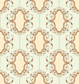 medallion pattern vector image
