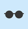 Round Sun Glasses vector image vector image