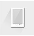 Electronic book e book reader vector image