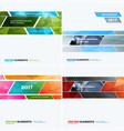 abstract design elements for graphic layout vector image vector image