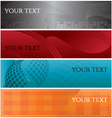 banners-2 vector image vector image