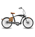 Bicycle chopper vector image vector image