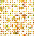 Colorful square pattern background vector image vector image