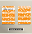 cover book with background color brickwork