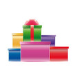 different gifts vector image vector image