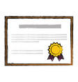 diploma icon image vector image vector image