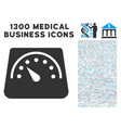 floor scales icon with 1300 medical business icons vector image vector image