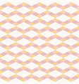 seamless abstract pink and orange pattern vector image vector image